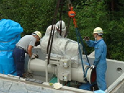 アーステック:発電所建設で培った技術とノウハウを自然エネルギー事業に役立てて、地域に貢献します
